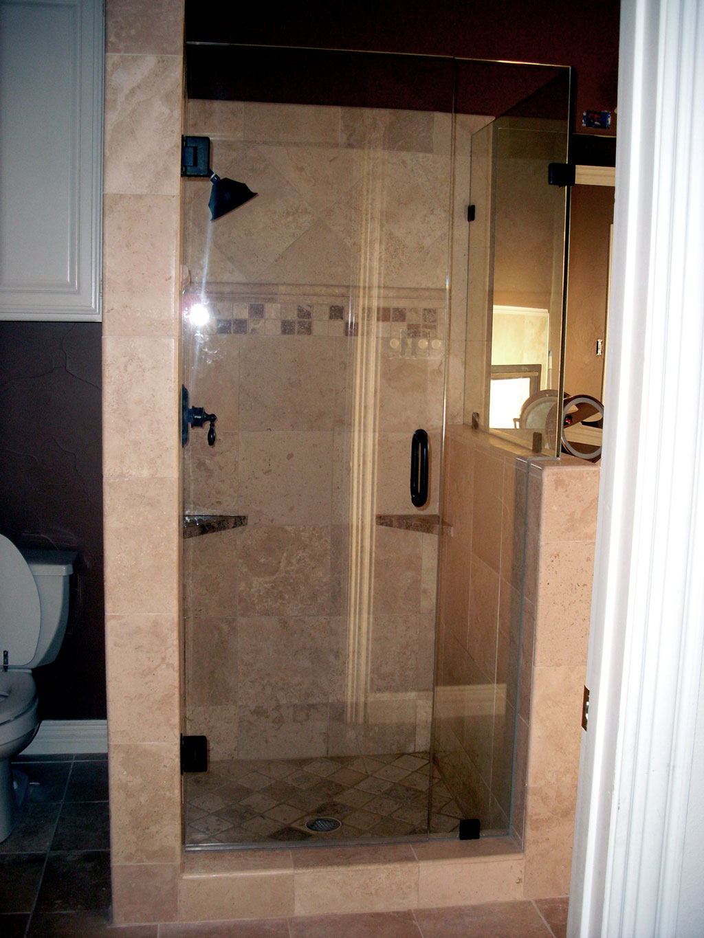 Frameless glass storefront door - Framless Shower Door And Glass By Jpon Glass